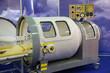 The medical equipment, pressure chamber.