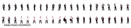 Fotografie, Obraz  Multiple Images of Businessman