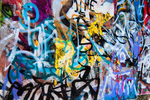 Poster Graffiti grafitti background