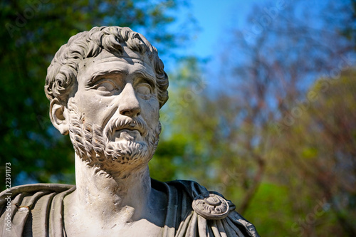 Tablou Canvas Hadrian Portrait - Bust of Roman Emperor