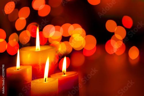 Fotografie, Obraz  candles