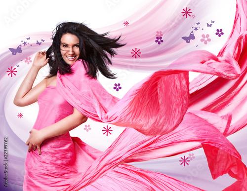 Fotografie, Obraz  pink-wind 1