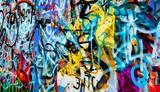 Fototapeta Młodzieżowe - grafitti background