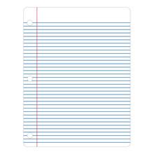 Notebook Paper Illustration