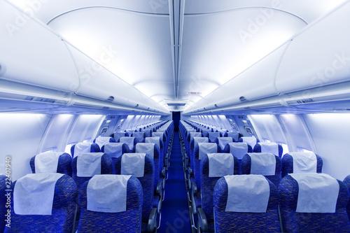 Poster Avion à Moteur boening airplane seats