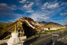 Tibetan Potala Palace Stupa An...