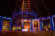 Metropolitan Cathedral Interior, Liverpool