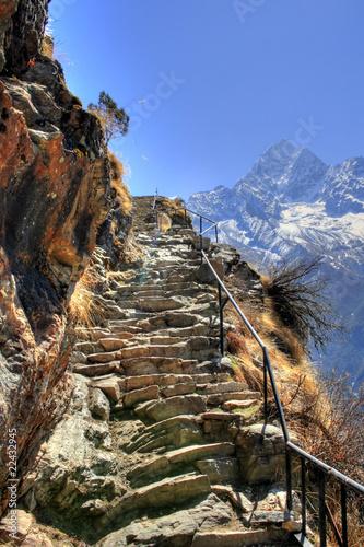 Staande foto Nepal Nepal / Himalaya - Everest Trek