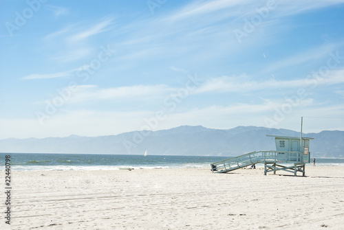 Staande foto Los Angeles sunny day at venice beach 2 of 7