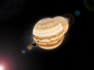 Planêtes système solaire