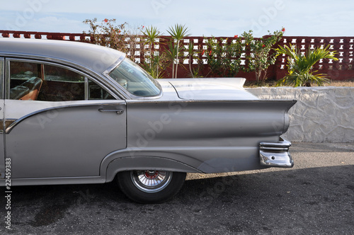 Türaufkleber Autos aus Kuba 50er Jahre