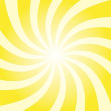 Yellow Sun Twist Burst