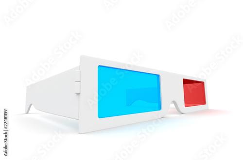 Photo  3-D Glasses.