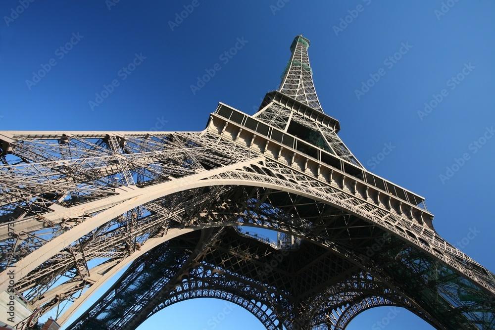 Fototapeta The Eiffel Tower, Paris - obraz na płótnie