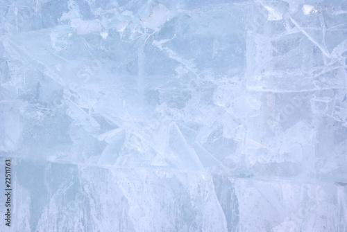 Canvas Prints Marble Ice