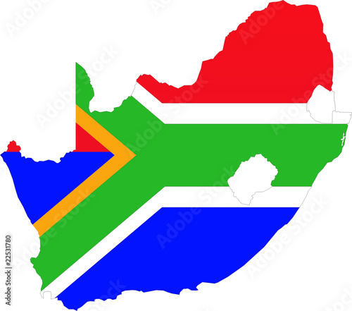 map south africa / landkarte südafrika @p(AS)ob