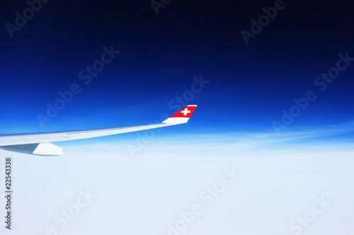 Poster Afrique du Sud Swiss Airplane