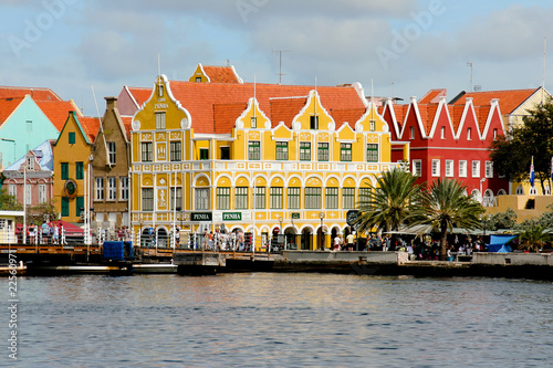 Photo Stands Caribbean Willemstad auf Curacao