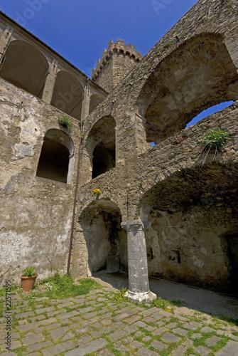 Deurstickers Rudnes Toscana: Castello Malaspina di Fosdinovo 3