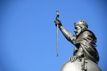 King Alfred The Great Statue,W...