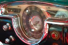 Vintage Car Interior Deck In H...