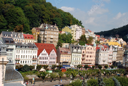 Fototapeta  Cityscape of Karlovy Vary (Carlsbad)