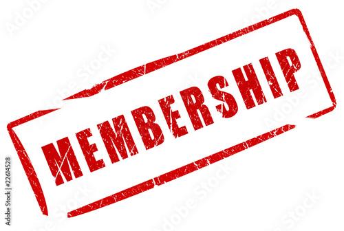 Fotografía  Membership stamp