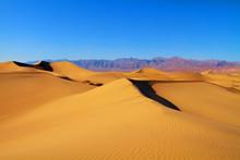 Sand Dunes In Death Valley California