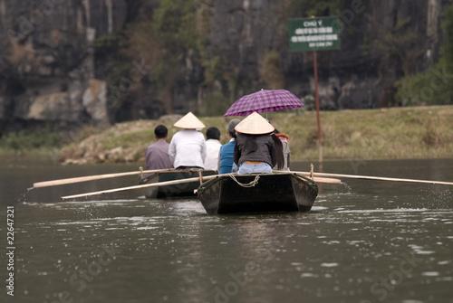 Photo Tour in a Vietnamese river