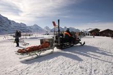 Rescue On The Ski Slopes