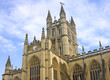 A view of the Abbey in Bath Somerset UK