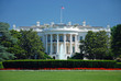 canvas print picture - The White House in Washington DC