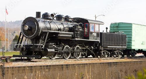 parowoz-w-railroad-museum-gorham-new-hampshire-usa