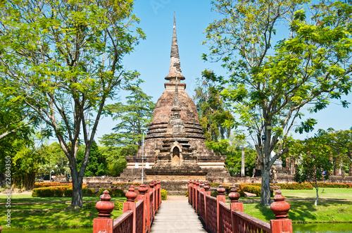 Cuadros en Lienzo Ancient Sukhothai.