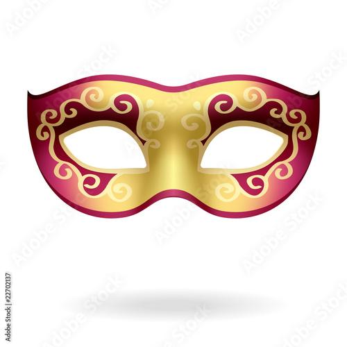 Fotografie, Obraz  Carnival Mask. Vector illustration.