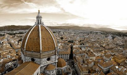 Panel Szklany Podświetlane Toskania Santa Maria del Fiore in Florence