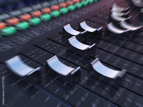 Fotografie, Obraz  Fast Track Mixer - Das Mischpult