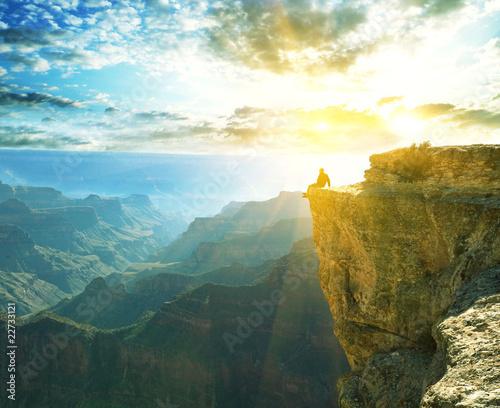 Tuinposter Zwavel geel Grand Canyon