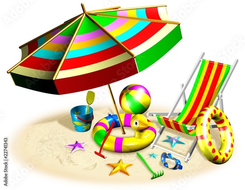 Spiaggia e Vacanze-Holidays at the Beach-3d