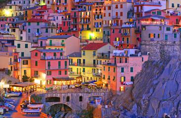 Fototapeta Manarola, Cinque Terre, Italy
