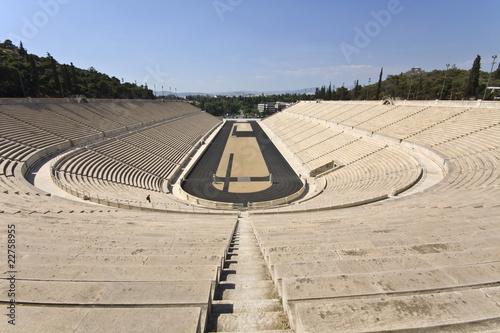 Staande foto Athene Panathenaic stadium at Athens, Greece (Kallimarmaro)