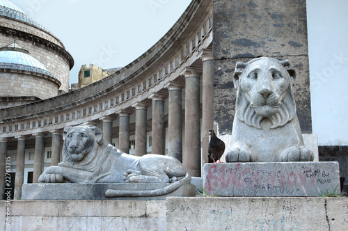Fotografia, Obraz  Napoli Piazza Plebiscito