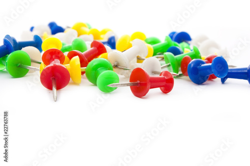 colorful pins - Buy this stock photo and explore similar