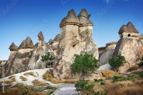 La pose en embrasure Turquie Cappadocia