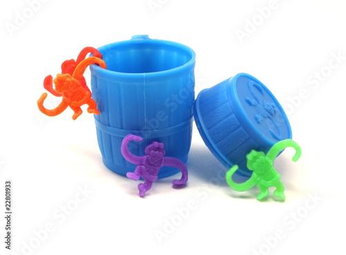 A barrel full of monkeys