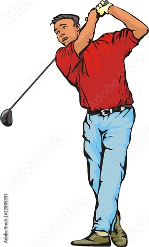 Photo  men's golf