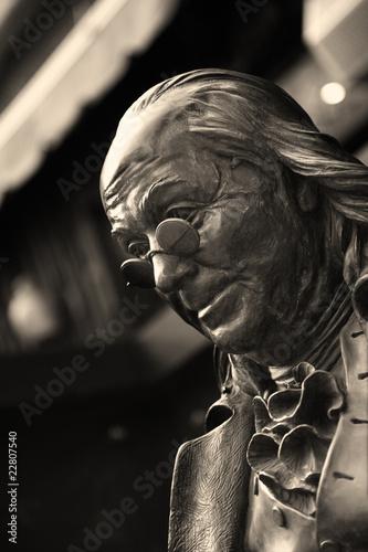 Valokuva  Statue of Benjamin Franklin