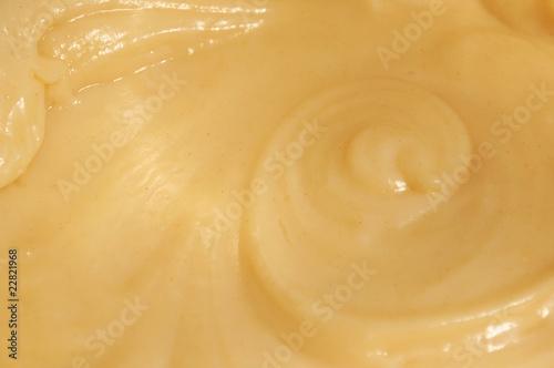 Foto Vanilla Custard as Background
