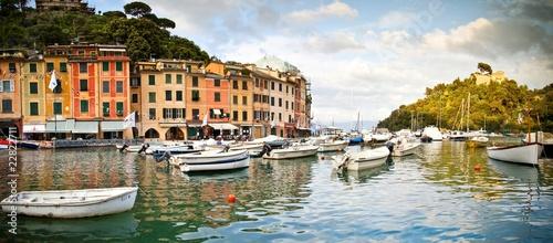 Canvas Prints Panorama Portofino