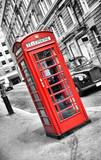 cabine de téléphone anglais - 22825973
